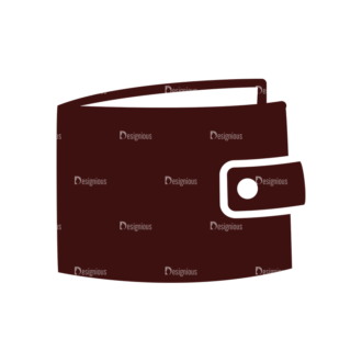 Money Vector Elements Set 1 Vector Wallet Clip Art - SVG & PNG vector