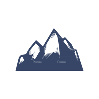 Nordic Skiing Elements Vector Set 3 Vector Logo 07 Clip Art - SVG & PNG vector