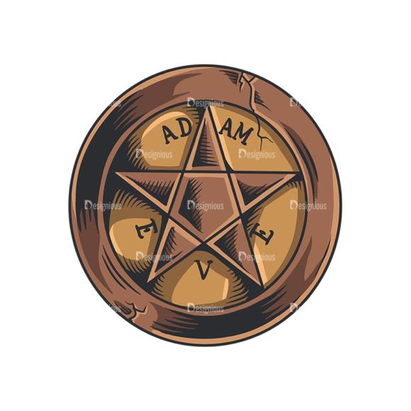 Occult Vector 2 6 Clip Art - SVG & PNG vector