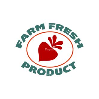 Organic Labels Set 4 Vector Logo 05 Clip Art - SVG & PNG vector