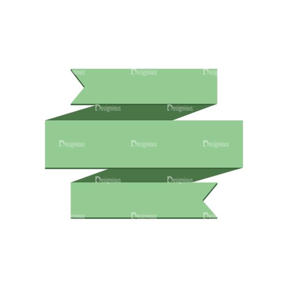 Origami Vector Ribbons Vector Ribbon 02 Clip Art - SVG & PNG vector