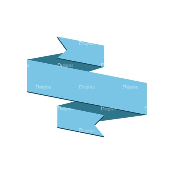 Origami Vector Ribbons Vector Ribbon 04 origami vector ribbons vector ribbon 04