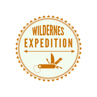 Outdoor Adventure Badges Vector Set 1 Vector Badges 06 Clip Art - SVG & PNG vector