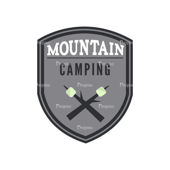 Outdoor Adventure Badges Vector Set 1 Vector Badges 08 5
