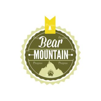 Outdoor Adventure Badges Vector Set 1 Vector Badges 10 Clip Art - SVG & PNG vector
