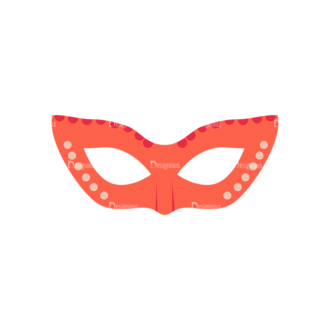 Party Retro Elements Vector Set 1 Vector Mask 02 Clip Art - SVG & PNG vector