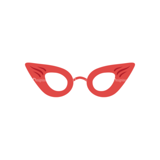 Party Retro Elements Vector Set 1 Vector Mask 04 Clip Art - SVG & PNG vector