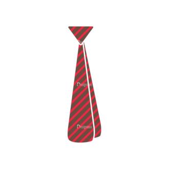 Party Retro Elements Vector Set 1 Vector Necktie Clip Art - SVG & PNG vector