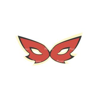 Party Retro Vector Set 2 Vector Mask Clip Art - SVG & PNG vector
