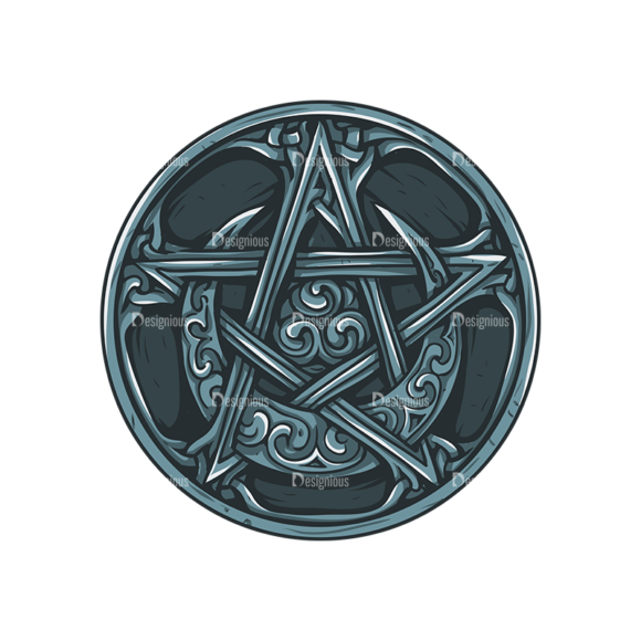 Pentagrams Vector 1 1 1
