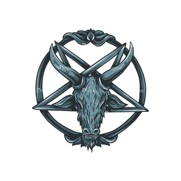 Pentagrams Vector 1 2 1