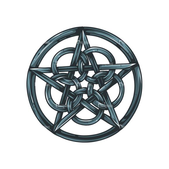 Pentagrams Vector 1 3 Clip Art - SVG & PNG vector