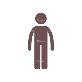 People Vector Set 2 Vector People 03 Clip Art - SVG & PNG vector