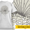 Off Duty Mermaid T-shirt Designs and Templates sea