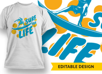 Surf For Life Online Designer Templates sea