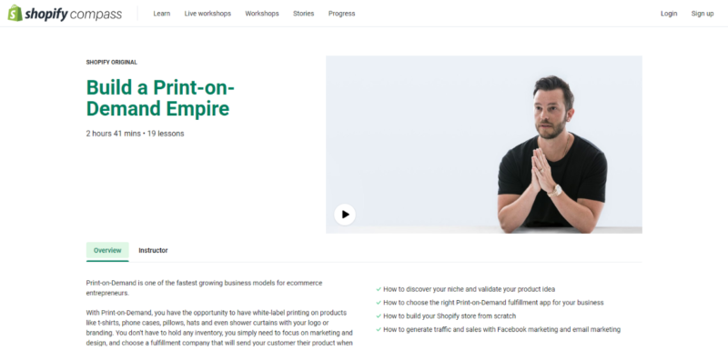 print on demand empire