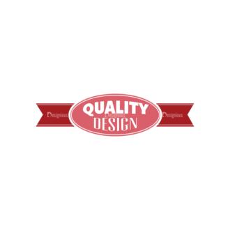 Quality And Satisfaction Guarantee Ribbons Vector Set 1 Vector Ribbon 01 Clip Art - SVG & PNG vector