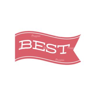 Quality And Satisfaction Guarantee Ribbons Vector Set 1 Vector Ribbon 04 Clip Art - SVG & PNG vector