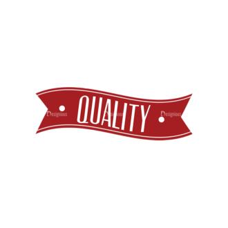 Quality And Satisfaction Guarantee Ribbons Vector Set 1 Vector Ribbon 05 Clip Art - SVG & PNG vector