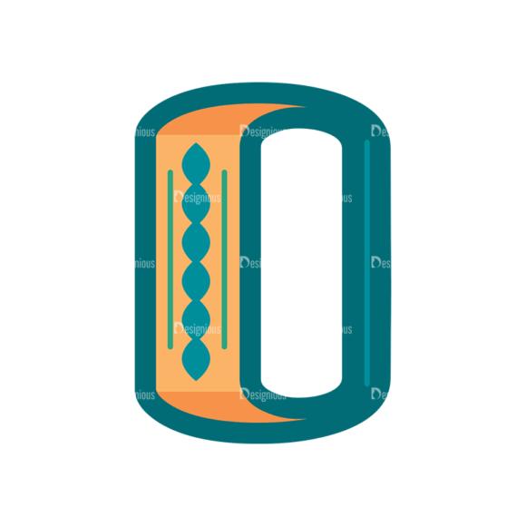 Retro Alphabet Set 8 Vector Alphabet 15 Clip Art - SVG & PNG vector