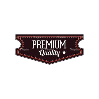 Retro Labels Vector Set 3 Vector Badge 11 Clip Art - SVG & PNG vector