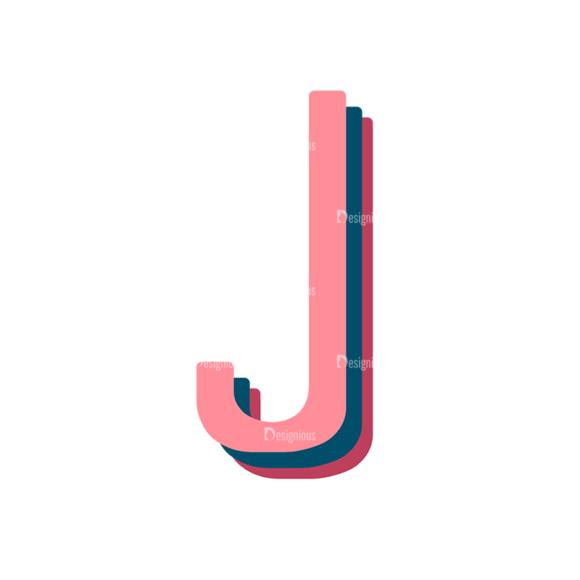 Retro Typography Vector Set 10 Vector Alphabet 10 retro typography vector set 10 vector alphabet 10