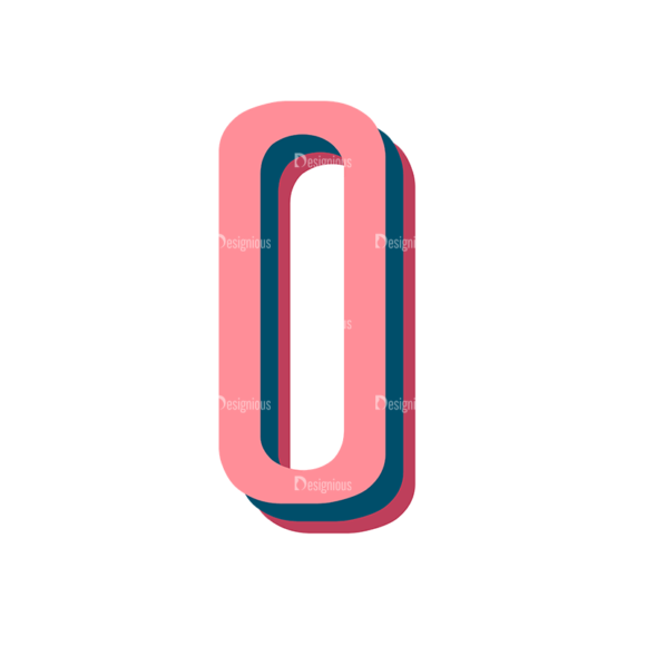 Retro Typography Vector Set 10 Vector Alphabet 15 1