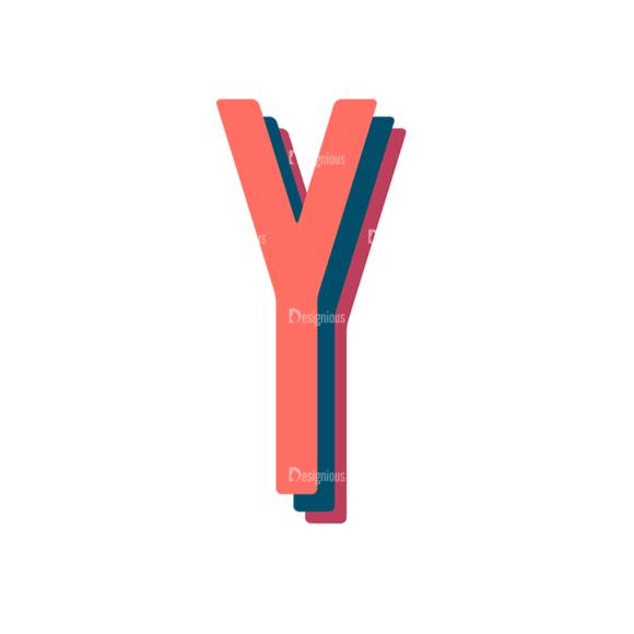 Retro Typography Vector Set 10 Vector Alphabet 25 retro typography vector set 10 vector alphabet 25