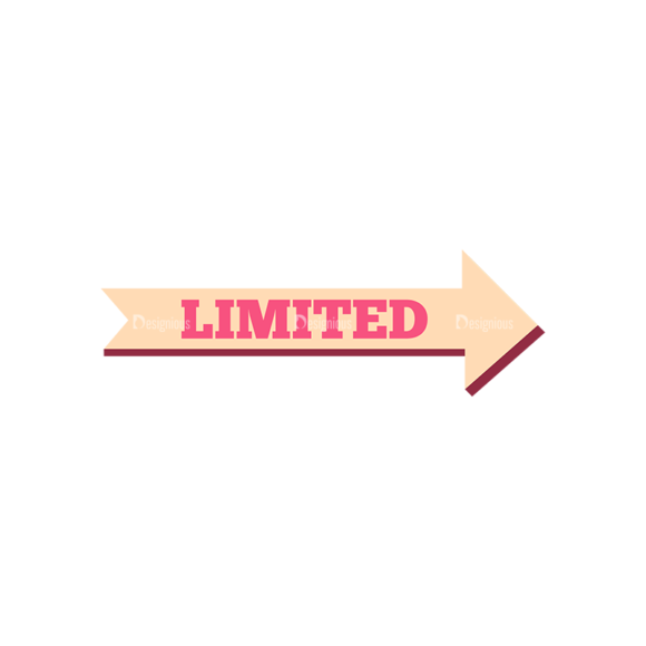 Retro Typography Vector Set 7 Vector Label 05 1