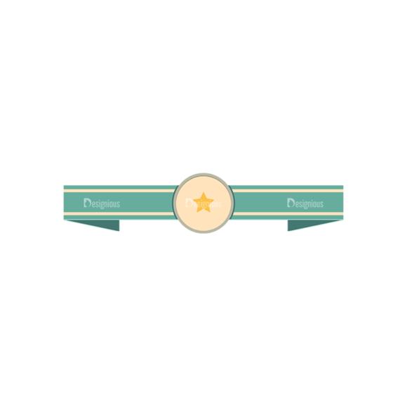 Retro Vector Ribbons And Labels Vector Ribbon 10 1