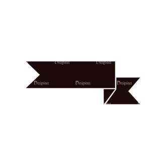 Ribbons Vector Elements Set 1 Vector Ribbon 04 Clip Art - SVG & PNG vector