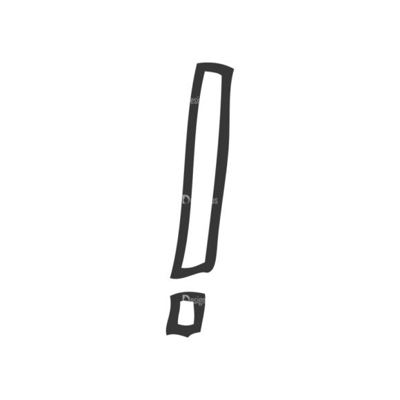 School Doodle Vector Set 1 Vector Exclamation school doodle vector set 1 vector exclamation