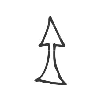 School Doodle Vector Set 1 Vector Arrow 16 Clip Art - SVG & PNG vector