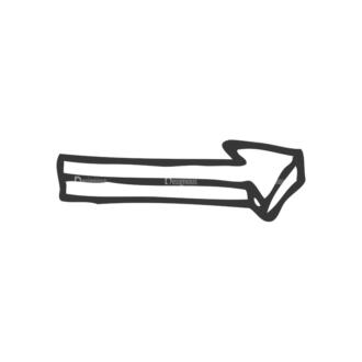 School Doodle Vector Set 1 Vector Arrow 19 Clip Art - SVG & PNG vector