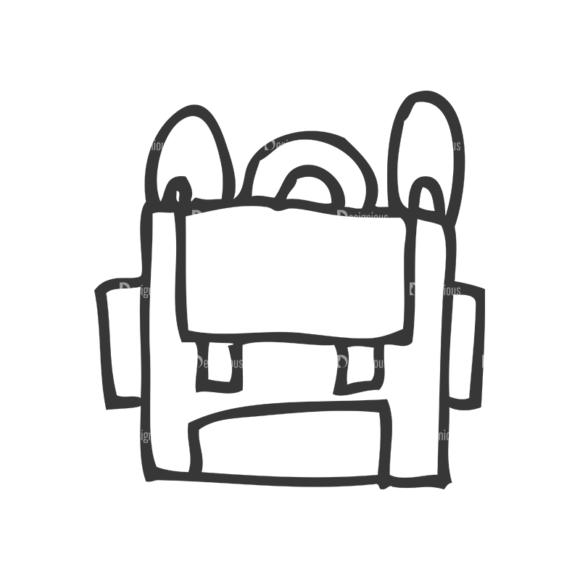School Doodle Vector Set 1 Vector Bag school doodle vector set 1 vector bag
