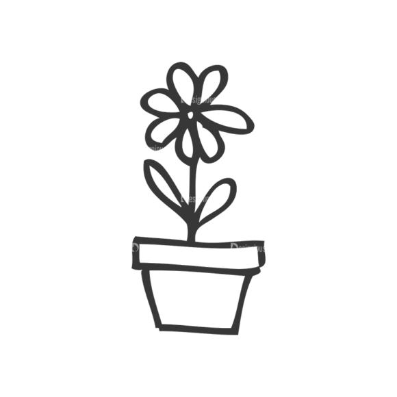 School Doodle Vector Set 1 Vector Flower school doodle vector set 1 vector flower