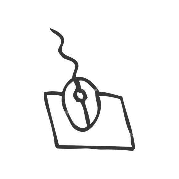 School Doodle Vector Set 1 Vector Mouse Clip Art - SVG & PNG vector