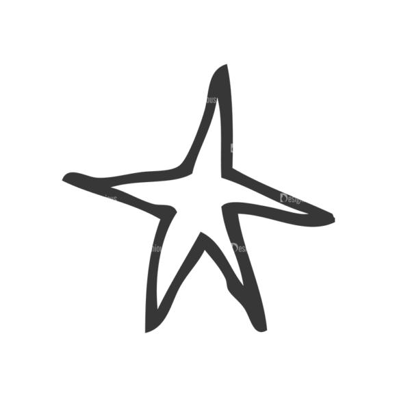 School Doodle Vector Set 1 Vector Star 26 Clip Art - SVG & PNG star