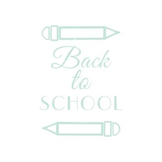 School Elements Vector Back To School 02 Clip Art - SVG & PNG vector
