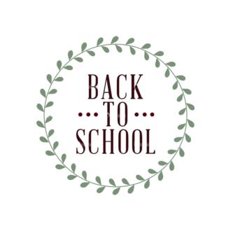 School Elements Vector Back To School 04 Clip Art - SVG & PNG vector
