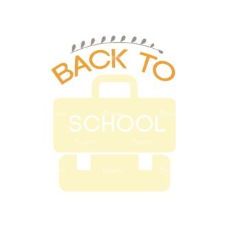School Elements Vector Back To School 07 Clip Art - SVG & PNG vector