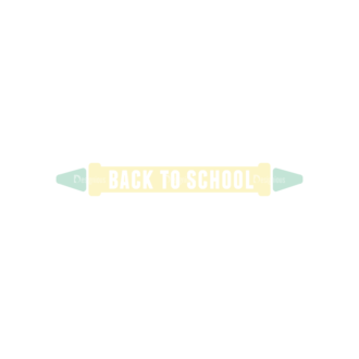 School Elements Vector Back To School 09 Clip Art - SVG & PNG vector