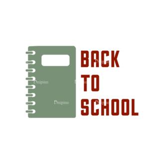 School Elements Vector Back To School 12 Clip Art - SVG & PNG vector