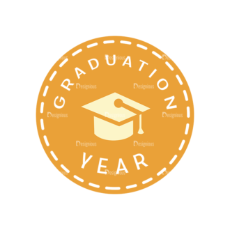 School Elements Vector Graduation Year Clip Art - SVG & PNG vector