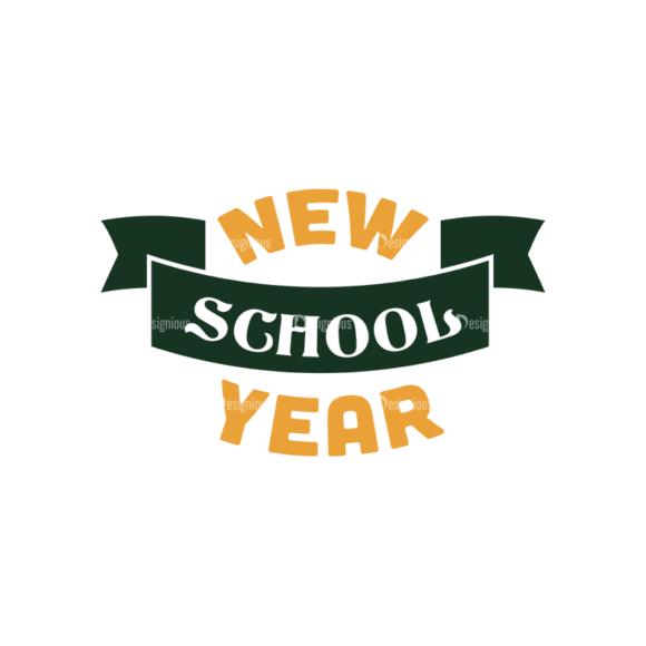 School Elements Vector New School Year 08 Clip Art - SVG & PNG vector