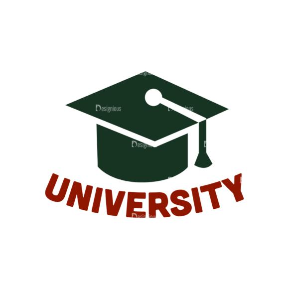 School Elements Vector University school elements vector University