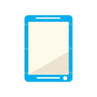 School Infographic Vector Tablet Clip Art - SVG & PNG vector