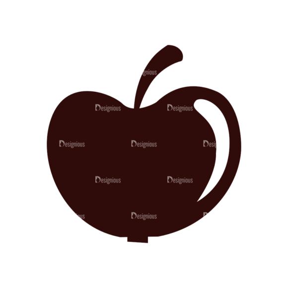 School Vector Elements Set 1 Vector Apple Clip Art - SVG & PNG vector