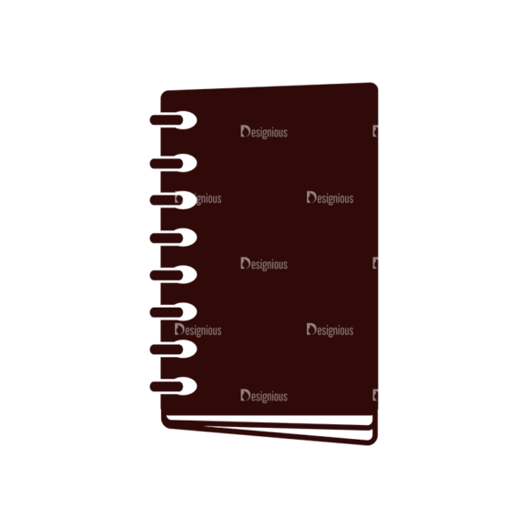 School Vector Elements Set 1 Vector Book 09 Clip Art - SVG & PNG vector