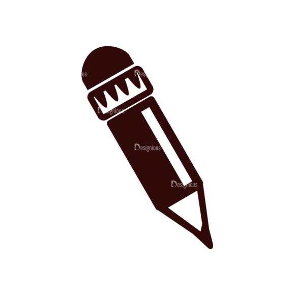 School Vector Elements Set 1 Vector Pencil Clip Art - SVG & PNG vector